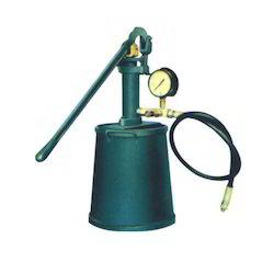 Manual Hydrostatic Test Pump
