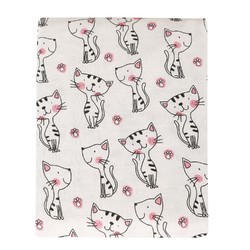 Cat Printed Organic Towel