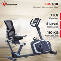 Powermax Magnetic Recumbent Bike (Br 700)