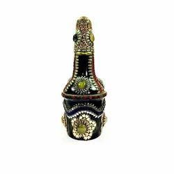 Wine Bottle Showpiece