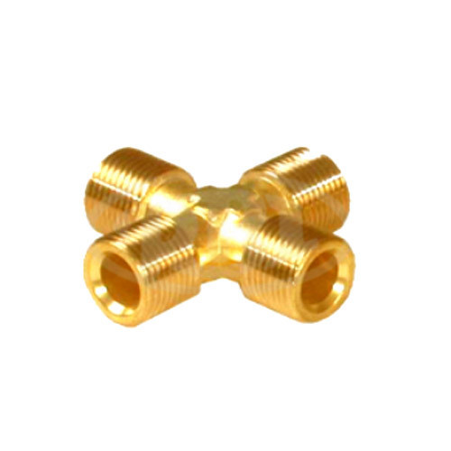 Four Way Male Tube at Rs 650 /kilogram   Brass Fittings   ID ...
