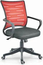 Netted Medium Back Chair