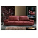 3 Seater Modern Leather Sofa
