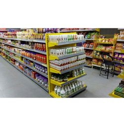 5 Shelves Powder Coated Supermarket Rack