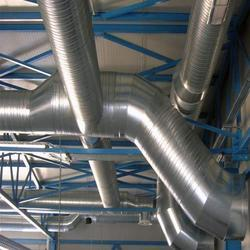 Ducting System Spiral Round Duct System Manufacturer