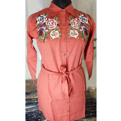 Ladies Orange Robe