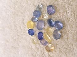 Natural Ceylone / Sri lankan Sapphire Gemstone Lot