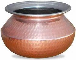 Copper Punjabi Handi
