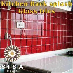 Kitchen Back Spalsh Glass tiles - Kitchen Back Splash Glass Tiles ...