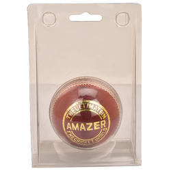 BDM Amazer Red Cricket Leather Ball