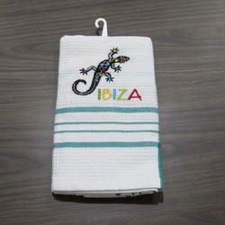Cotton Tea Towel Custom Waffle Kitchen Towel Set