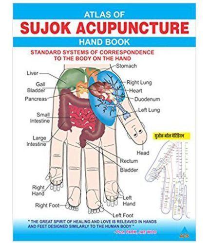 Book Amp Chart Atlas Of Sujok Acupuncture Book