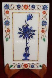 Decorative Marble Inlay Tray