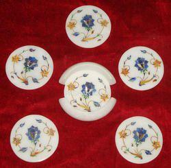 Decorative Marble Tea Coaster