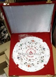 Marble Corporate Gifts Plate