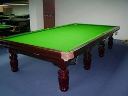 Snooker Table In Steel Block