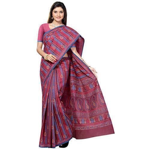 2da3e9ccc7c4b Ladies Saree - Ladies Printed Cotton Saree Manufacturer from Kolkata