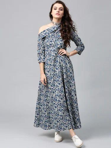 a11f4bd5292 Women s Dresses - Drop Shoulder Maxi Dress OEM Manufacturer from Gurgaon