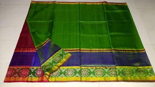 e42d3ee0ac7fa Pochampally Border Uppada Pattu Sarees - Uppada Pattu Sarees With ...
