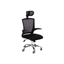 Revolving Black Office Chair