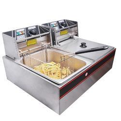Double Table Top Deep Fat Fryer