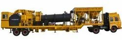 Mobile Automatic Asphalt Drum Mix Plant