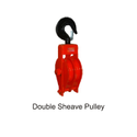Double Sheave Pulley