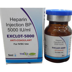 Heparin Injection BP 1000 IU/ml & 5000 IU/ml