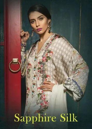760ffc5161 Ladies Pakistani Suit - DEEPSY BY SAPPHIRE SILK PURE JAPAN SATIN PAKISTANI DRESS  Wholesale Trader from Surat