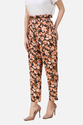 Women Floral Flared Pants