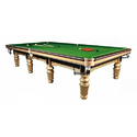 Pool Table In Gold Polish