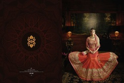 Designer Silk Lehenga Choli