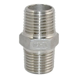 Stainless Steel Hex Nipple 202