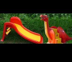 FRP Small Dinosaur Slide