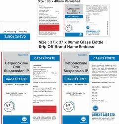 Caz FX Forte 30ml Dry Syrup