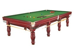 Snooker Table In Tournament Championship Belgian Ball