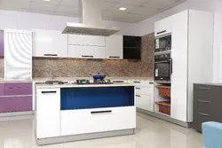 Grass Brand Modular Kitchen with loft