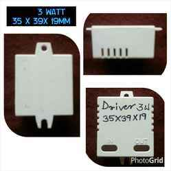 LED Driver 3 Watt Square White Housing