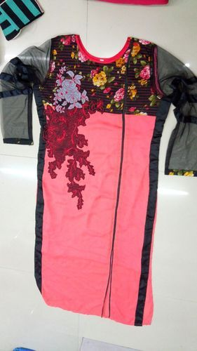 Wholesale Designer Clothing Lots   Wholesale Womens Wear Surplus Designer Kurtis St7 Manufacturer