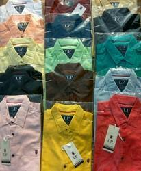 LP Plain Casual Shirts