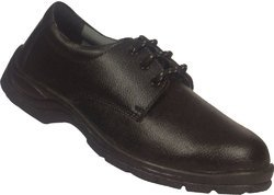 Safety Shoe Synthetic Upper PU Sole with Steel Toe