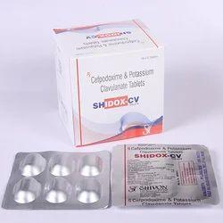 Cefpodoxime Proxetil 200 Mg Calvulanate Potassium 125 Mg