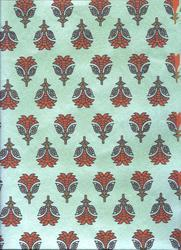Gift Wrapping Handmade Paper & Screen Printed In Three Colors