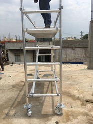 Crystal Aluminium Mobile Scaffolding Tower