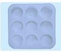 Round Silicone Soap Mold 100 gms