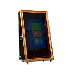 Tempered Glass Mirror Selfie Photo Booth