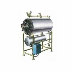 Horizontal High Pressure Cylindrical Sterilizer