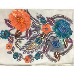 Embroidery Sequins Work