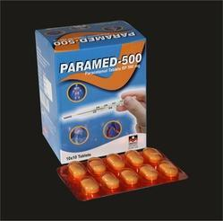 Paramed-500 (Acetaminophen Tablets 500 mg)