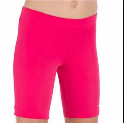 8078727130 Women Sport Shorts - Decathlon Girl Swimming Jamsuit - Pink ...